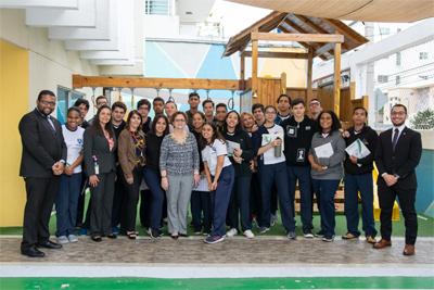 Escuela Previsional SIPEN imparte seminarios a estudiantes de 6to. de secundaria